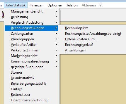 Info/Statistik - ein Überblick